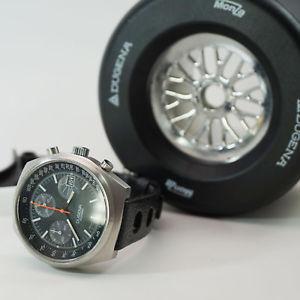 【送料無料】腕時計 ウォッチ モンツァフォーミュラボックストロピックストラップdugena monza, bbs frmula 1 box, tropic strap, valjoux 7765 unpolished