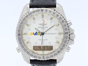 【送料無料】腕時計 ウォッチ ブライトリングbreitling pharaons pluton quartz steel a51037