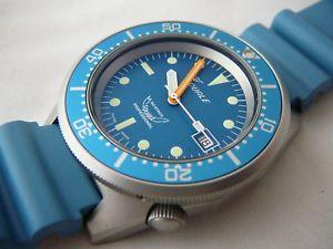 見事な創造力 【送料無料】腕時計 ウォッチ プロフェッショナルメートルダイビングアッズーロsquale professional ocean acciaio ocean 500mt acciaio sabbiato, azzurro cinturino diving azzurro, 一番の:c92c13b4 --- casasiesta.ru