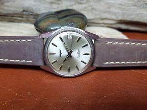 腕時計 ウォッチ ビンテージシルバーrara vintage longines conquest reloj de hombre automtico esfera plateada