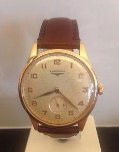 【送料無料】腕時計 ウォッチ ゴールドktゴールドヴィンテージlongines orologio anni 50 27m oro giallo 18 kt gold wrist watch 1950 vintage
