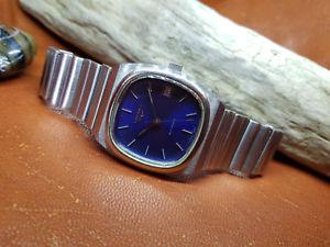 【送料無料】腕時計 ウォッチ アラームcomo nuevo de coleccin longines automtico esfera azul fecha reloj de hombre