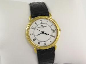 腕時計 ウォッチ ボーメメルシエソリッドbaume mercier classima 15163 18k solid amp; reloj de oro