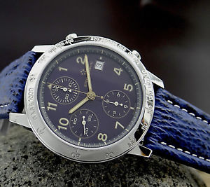 【送料無料】腕時計 ウォッチ マティッククロノグラフレディースステンレススチールeternamatic 150341 kontiki chronograph automatic seores reloj de pulsera en acero