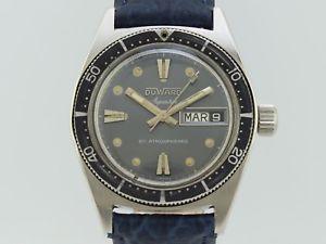 【送料無料】腕時計 ウォッチ クストービンテージダイバーduward aquastar vintage diver from duward cousteau manual winding 1346