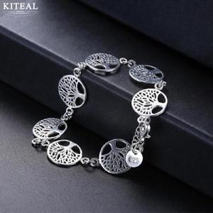 【送料無料】ブレスレット アクセサリ― asfr37505 arbreendelescas fr37505 arbre bracelet breloque en argent de bracelets vie pour les femmes c