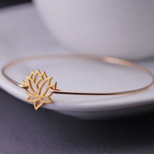 【送料無料】ブレスレット アクセサリ― ロータスブレスレットプランタンメインas fr50183 fleur de lotus bracelet entiers alliage de printemps main femme plaq