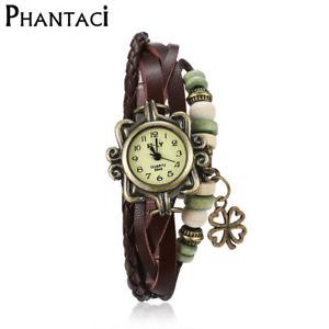 【送料無料】ブレスレット アクセサリ― ビンテージラップブレスレットメタas fr35256 vintage infinity wrap charm bracelets trefle en alliage de zinc meta