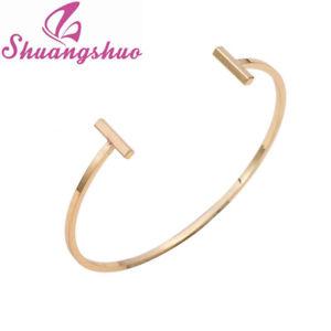 【送料無料】ブレスレット アクセサリ― ブレスレットダブルオープンバーシンプルsm fr80216 bracelets double open bar bijoux pour femmes tendance simple