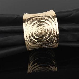【送料無料】ブレスレット アクセサリ― プラークブレスレットsm fr79710 european courbe metal tibetain or plaque bracelets pour femmes vinta