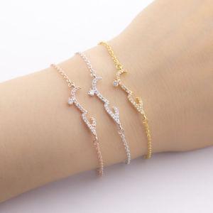 【送料無料】ブレスレット アクセサリ― クリスタルブレスレットトレンディsm fr81088 crystal love en arabes bracelets pour femmes engagement trendy