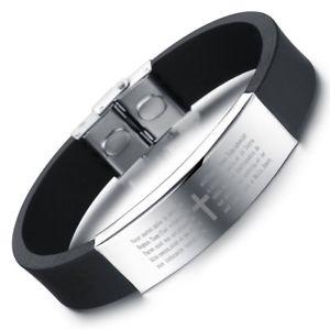 【送料無料】ブレスレット アクセサリ― asde31140ジルバーfarbeタイタンカフスedelstahl zirkoniaas de31140 silber farbe titan cuff manner edelstahl zirkonia charm bracelets