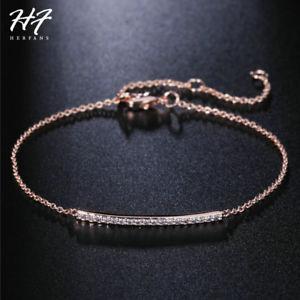 【送料無料】ブレスレット アクセサリ― asfr37639couleurジルコンバラcuivrechaine de lias fr37639 couleur concise zircons or rose femmes cuivre bracelets chaine de li