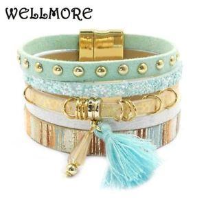 【送料無料】ブレスレット アクセサリ― ブレスレットブレスレットbracelet en cuir t bohmien bracelet pour femmes