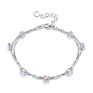 【送料無料】ブレスレット アクセサリ― スターリングシルバーキャンディーダブルスターリングシルバーブレスレットs925 sterling silver 4mm candy double sterling silver bracelet lkn06