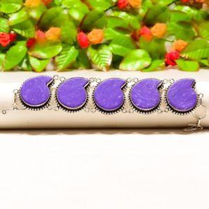 【送料無料】ブレスレット アクセサリ― ペーズリーcharoiteブレスレット78b241stunning paisley charoite handmade ethnic jewelry bracelet 78 b241