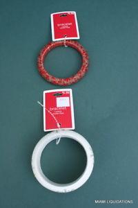 【送料無料】ブレスレット アクセサリ― ブレスレットウッドロットビーズビーズターゲットクリスマスlot of 2 bracelets snowflakes wood amp; beaded beads target redwhite holiday xmas
