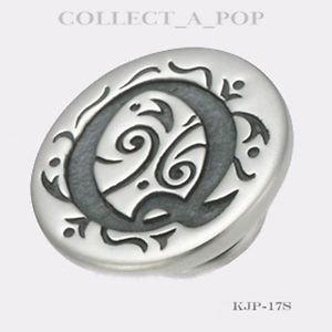 【送料無料】ブレスレット アクセサリ― スターリングシルバーauthentic kameleon sterling silver letter q jewelpop kjp017si