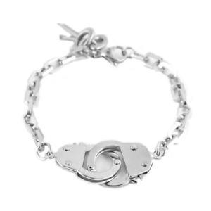 【送料無料】ブレスレット アクセサリ― ステンレスカフスブレスレットアメリカwomens stainless steel hand cuff bracelet usa seller