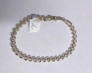 上品なスタイル 【送料無料】ブレスレット アクセサリ― シルバーパターンブレスレット listingsterling silver s pattern 7 bracelet b57, フォアザアース e52babfd
