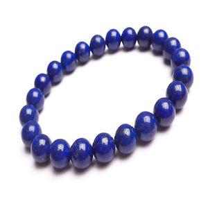 【送料無料】ブレスレット アクセサリ― ラピスラズリブレスレットサイズlapis lazuli, authentic gemstone stretchable bracelet various sizes