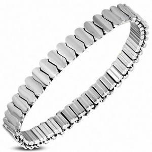 【送料無料】ブレスレット アクセサリ― ブレスレットステンレススチールストレッチスパイラルbracelet stainless steel stretch spiral width 0 1132in