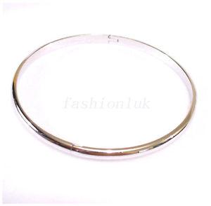 【送料無料】ブレスレット アクセサリ― ホワイトゴールドメッキクラシックブレスレットwhite gold plated women medium 6cm open traditional classic bracelet gb