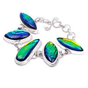 【送料無料】ブレスレット アクセサリ― オパールブレスレット opal silver plated handcrafted jewelry gemstone bracelet 7 to 8 pj29396