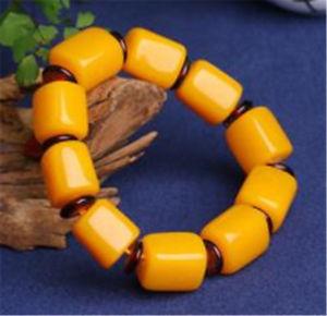【送料無料】ブレスレット アクセサリ― バルトワックスブレスレットsynthetic baltic amber old wax bracelet
