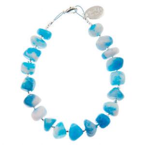 【送料無料】ブレスレット アクセサリ― キャリーアクアリーフブレスレットcarrie elspeth aqua reef bracelet b1455 bnwt