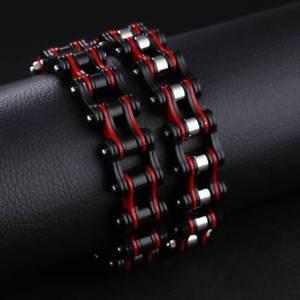 【送料無料】ブレスレット アクセサリ― 316ポンドステンレススチームパンクオートバイmen fashion 316l stainless steel creative design steampunk motorcycle bracelet