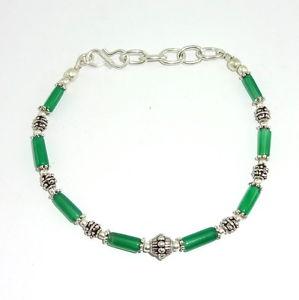 【送料無料】ブレスレット アクセサリ― natural green onyx gemstone 4mm beaded beautiful charmingbracelets 8gramsnatural green onyx gemstone 4 mm beaded beautiful
