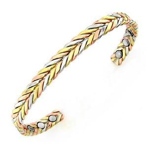 【送料無料】ブレスレット アクセサリ― ブレスレットmagnetic copper bracelet