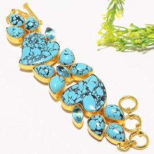 【送料無料】ブレスレット アクセサリ― サンタローザトルコジュエリーブレスレット78 sb1226santa rosa turquoise gold plated fashion jewelry bracelet 78 sb1226