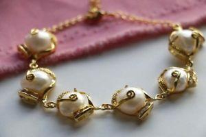 【送料無料】ブレスレット アクセサリ― 813mmバロックーパールブレスレットf32368 genuine natural 13mm white baroque pearl bracelet f3236