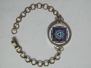 【送料無料】ブレスレット アクセサリ― ヒンズーオカヒジキヤントラブレスレットmfrhandmade yellow brass hindu deity goddess kali yantra adjustable bracelet mfr