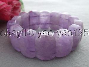 【送料無料】ブレスレット アクセサリ― ヒスイブレスレットs033110 natural purple jade bracelet