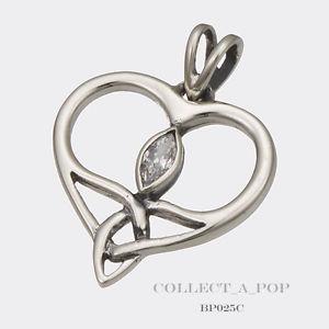 【送料無料】ブレスレット アクセサリ― シルバークリスタルハートペンダントauthentic kameleon boudicca silver crystal heart pendant bp025c