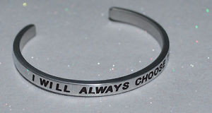 【送料無料】ブレスレット アクセサリ― ハンドメイドブレスレットi will always choose you  handmade amp; polished bracelet