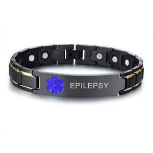 【送料無料】ブレスレット アクセサリ― ツールidブレスレットステンレスstainless steel medical alert id men bracelet chain with tool custom engraving