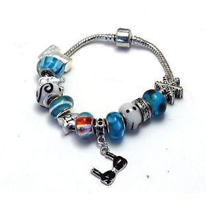 【送料無料】ブレスレット アクセサリ― アップビーズブレスレットtoc beadz growing up 21 blue bead bracelet
