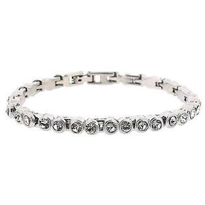 【送料無料】ブレスレット アクセサリ― コレクションラインストーンクリアテニスブレスレットセットthe olivia collection clear rhinestone set 7 tennis bracelet