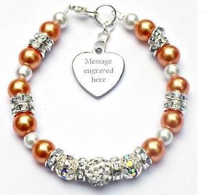 【送料無料】ブレスレット アクセサリ― アウェアネスブレスレットチャリティーpersonalised engraved leukemia awareness bracelet gift fundraising charity