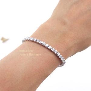 【送料無料】ブレスレット アクセサリ― スターリングシルバーボールチェーンブレスレット925 sterling silver bling cz dangle ball adjustable chain bracelet women a2857