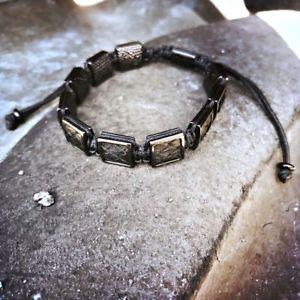 【送料無料】ブレスレット アクセサリ― メンズレザーマクラメブレスレットブレスレットluxury mens python leather macrame bracelet charm men adjustable bracelets gift