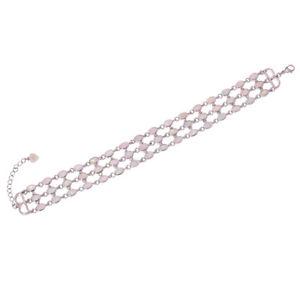 【送料無料】ブレスレット アクセサリ― チェーンブレスレットオパールシルバーwhite fire opal silver for women jewelry gems chain bracelet 7 588 34 os582