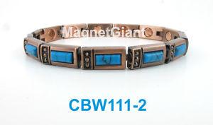 【送料無料】ブレスレット アクセサリ― トルコリンクパワーcbw1112turquoise gemstone women copper link high power magnetic bracelet cbw1112