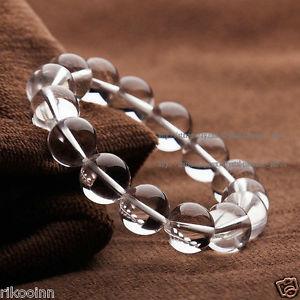 【送料無料】ブレスレット アクセサリ― クリアラウンドビーズブレスレットミリミリミリミリミリミリnatural clear quartz crystal round beads bracelet 8mm10mm12mm14mm16mm18mm