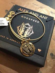 【送料無料】ブレスレット アクセサリ― アレックスブレスレットゴールドalex amp; ani godspeed charm bracelet, nwt, gold, free shipping
