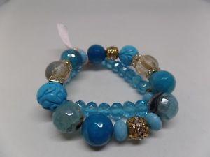【送料無料】ブレスレット アクセサリ― クリスタルストレッチブレスレットセットsugar ny natural stone amp; crystal stretch braceletsset of 2